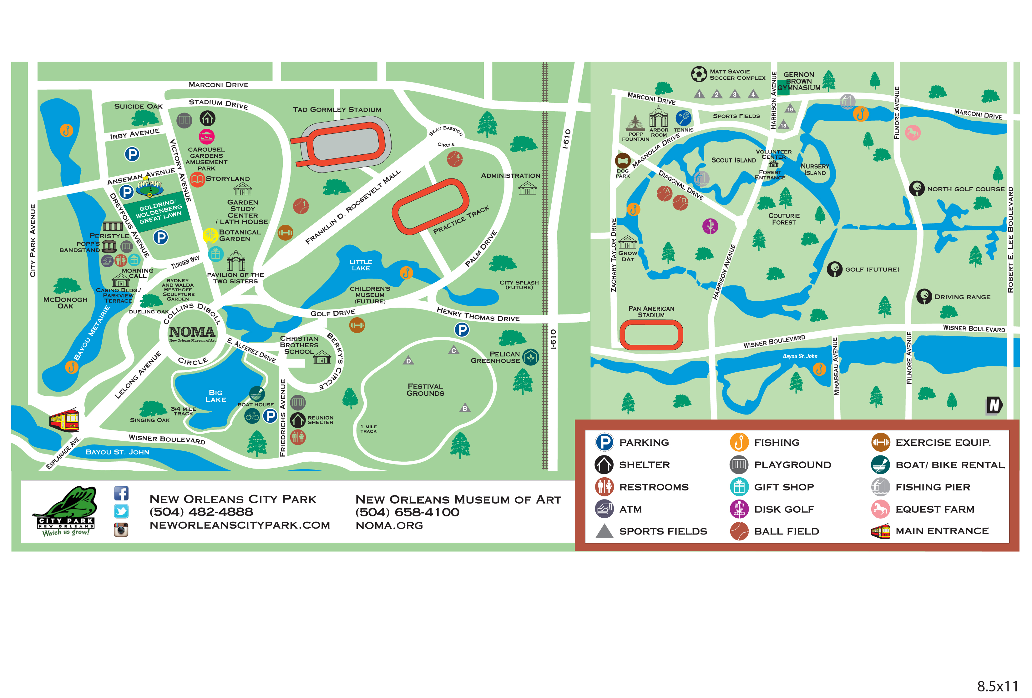 Park Map – Friends of City Park